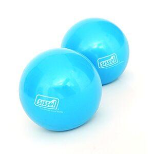 Sissel Pilates Toning Ball, pair, 900g
