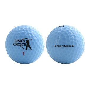 Links Choice Golf Balls (12 Pack) - 21 x 16 x 5 cm, Blue/Clam