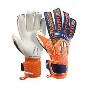 HO Soccer SSG Ikarus Roll Goalkeeper Gloves, Unisex Adult, Unisex adult, SSG Ikarus Roll, Orange/Blue/White