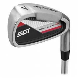 Wilson Golf Pro Staff SGI Iron Set 5-SW, Golf Club Set for Men, Left-Handed, Suitable for Beginners and Advanced, Steel, WGD158250