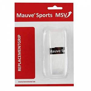 MSV Unisex's Basic Soft-Tac Embossed Replacement Grip-White, One Size, Onesize