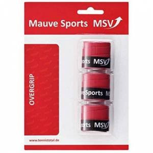MSV Unisex's Cyber Wet Rot Overgrip (Pack of 3) -Red, One Size, Onesize