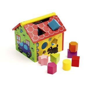 Jeujura JeujuraJ50200 House of Shape, Multi-Color