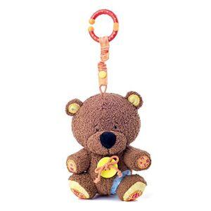 """Woodyland 1068700010 Cuddly Teddy """"Matahi"""", Brown"""