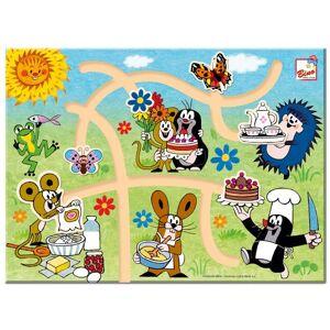 Bino 13736 Mole Find The Right Way, Size-30 x 22 x 2 cm, Multicolour