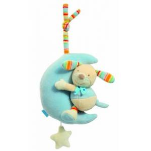 Baby Fehn Fehn Bubbly Crew Musical Dog in the Moon Toy