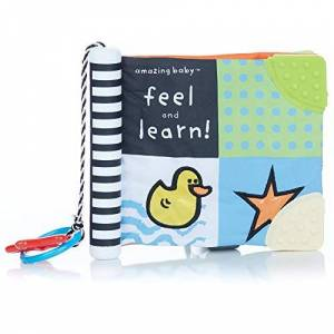 Amazing Baby KP-49647 Feel and Learn Soft Book