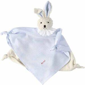 Käthe Kruse 74913Vichy Bunny Rabbit Comfort Blanket Light Blue