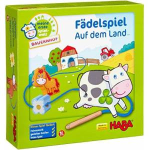 Haba On The Farm Threading Game