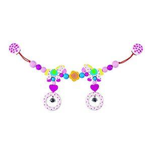 Heimess 763480 Wooden Pram String Clip On (Horse), multicolour