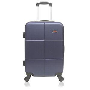 Hero Coronado Suitcase, 66 cm, 61 liters, Blue (Bleu)
