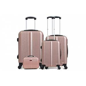 Hero Lipari-C Luggage Set, 76 cm, 206 liters, Pink (Rose)