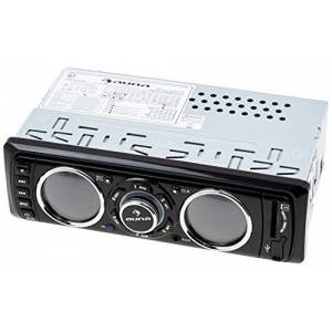 Auna MD Car Stereo Radio Range (USB SD Connectivity, MOSFET Tech & 4 x 75W Max Output) - Black