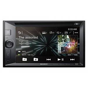 """Sony XAVW651BT - 2DIN car DVD player (Bluetooth and NFC, 6.2 """"screen, voice control, Extra Bass, Siri Eyes Free and power of 55 W x 4), black"""