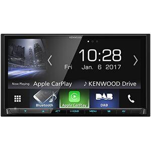 Kenwood DMX7017DABS AV Receiver with Bluetooth, Black