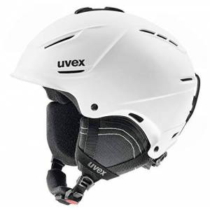 Uvex Unisex's Adult, p1us 2.0 ski Helmet, White mat, 59-62 cm