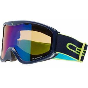 Bolle Unisex's CBG159 Ridge Goggles, Dark Blue Lime, Large