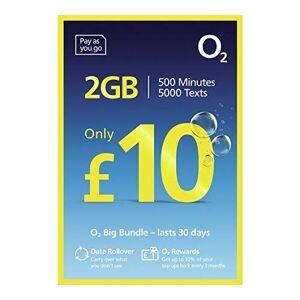 Unknown O2 The Big Bundle Pay As You Go Sim Card