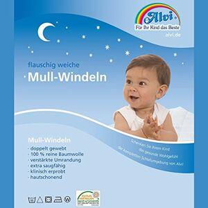 ALVI Mull-diapers Komfort (3 Stück) 80X80