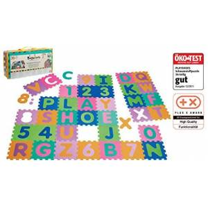 Playshoes Soft Alphabet and Number Jigsaw Puzzle with Play Mat