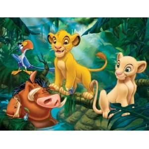 Nathan-Jigsaw Puzzle-86313Child Classic-Simba & Co.-30Pieces