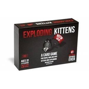 Exploding Kittens Card Game - NSFW (Explicit) Edition - Family-Friendly Party Games - Card Games For Adults, Teens & Kids