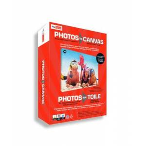 YouFrame You Frame Photos to Canvas, Print and Canvas Your Own Photos, Fun & Easy to Use Each Canvas Measures 24cm x 18cm x 2cm (Triple pack)