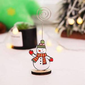 Creative Labs AMhomely Christmas Decorations Sale, Creative Christmas Business Card Holder Message Folder Photo Clip Xmas Hanging Ornaments For Women,Men,Kids
