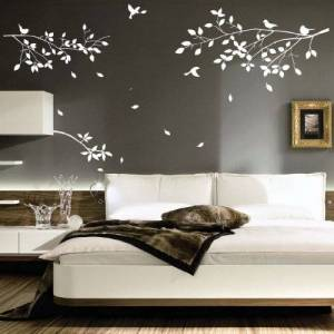 amazing sticker Tree Branches Birds Art Wall Stickers/Wall Decals/Wall Transfers/Wall Tattoo (xx large)