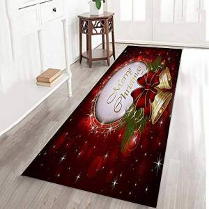 AMhomely Christmas Decorations Sale,Merry Christmas Welcome Doormats Indoor Home Carpets Decor 40x120CM Merry Christmas Decorative Xmas Decor Ornaments Party Decor Gifts For Kids Adults