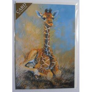 Greetings Cards 'Brave New World' Giraffe Sanctuary Pollyanna Pickering blank greetings card