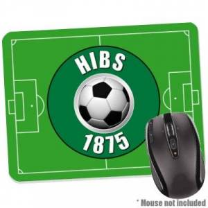 1StopShops Hibs since 1875 Mouse Mat for Football Fans