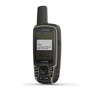 Garmin Unisex -Adult's GPSMAP 64sx Handheld GPS with Navigation Sensors, Black and Beige, One Size
