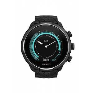 Suunto 9 Unisex Baro Multisport GPS Watch, 25+Hours Battery Life, Waterproof to 100 m, Wrist Heart Rate Monitor, Colour Display, Sapphire Glass, Anthracite, SS050145000
