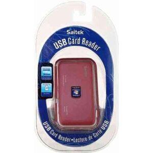 Saitek USB Card Reader - Saitek - Kartenlesegerät - Rot [German Version]