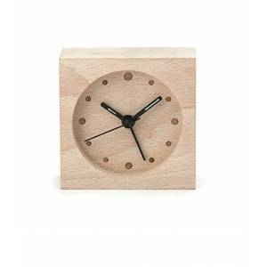 KIKKERLAND CL58-EU Clock Wood Large