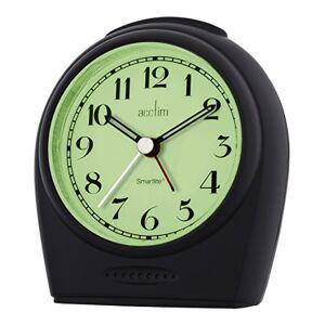 Acctim 14983 Broadway Smartlite Sweeper Alarm Clock, Black