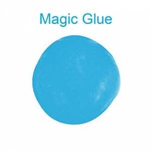 XIYAO Glue Dust Cleaner for Car,Keyboard Gummy Cleaners Magic Cleaning Silica Gel,Innovative Super Soft Sticky Dust Cleaning Gel (1 PCS, Blue)