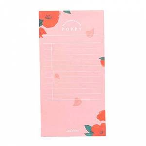 MSYOU Hardcover Notebook Simple Rectangular Week Plan Day Plan Note Style Diary Book High Quality Thick Paper Record Book School Office Supplies (Pink)