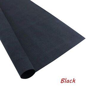 1 Sheets 50x50cm Sponge Paper 1mm Handmade Craft Paper EVA DIY Crafts Materials Cut Foam Paper (Black)