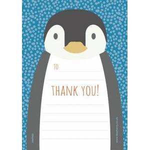 Dear Henry Penguin Children's Thank You Notes 20 A5 sheets