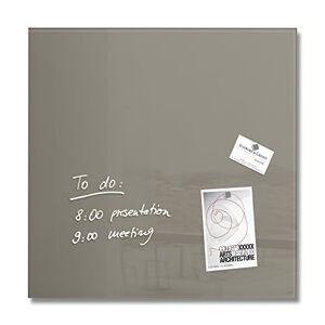 Sigel 480 x 480 mm Artverum Magnetic Glass Board - Taupe