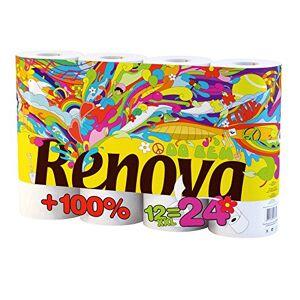 RENOVA Autonomous Renovagreen Toilet Roll, 12Rolls