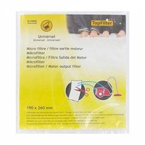 Fackelmann Top Filter Replacement Micro Filter for Vacuum Cleaner Can be Cut to Size