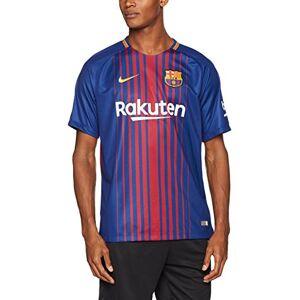 Nike men's FC Barcelona SS home stadium jersey, Men, 847255-456, deep royal blue/university gold, XL