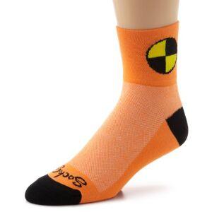 Sockguy Classic Socks - Dummy Orange/Black, Small/Medium