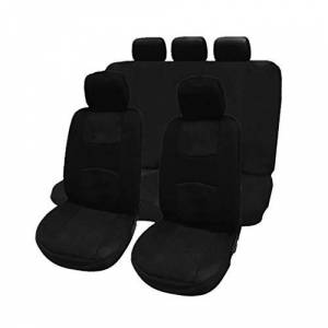 Kaemma 9 Pcs Car Seat Covers Full Set Automobile Seat Protection Cover Vehicle Seat Covers Universal Car Accessories Car-Styling
