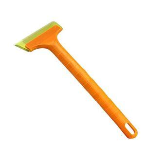 HANO 1X Car Accessories Multifunctal Snow Shovel Long Rod Deicing Sweep Tool Portable Cleaning Tool Scraper Windshield : 33x15.5cm