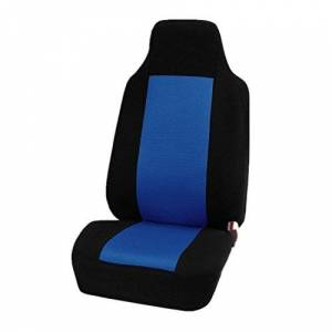 YUYUNZHI Fit Seat Cover Single Car Cushion Cover - Non Slip Protector,Flat Cloth Bucket Seat Cover for Car, SUV & Truck (Color : Blue)