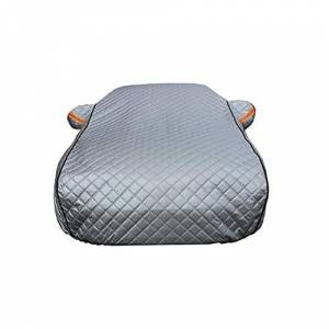 LPQSY Car Cover Waterproof Breathable UV Protection All Weather Proof Outdoor Covers Thickening Sun Protection Anti-icing Snow Protection FOR Infi-niti (Size : QX30)